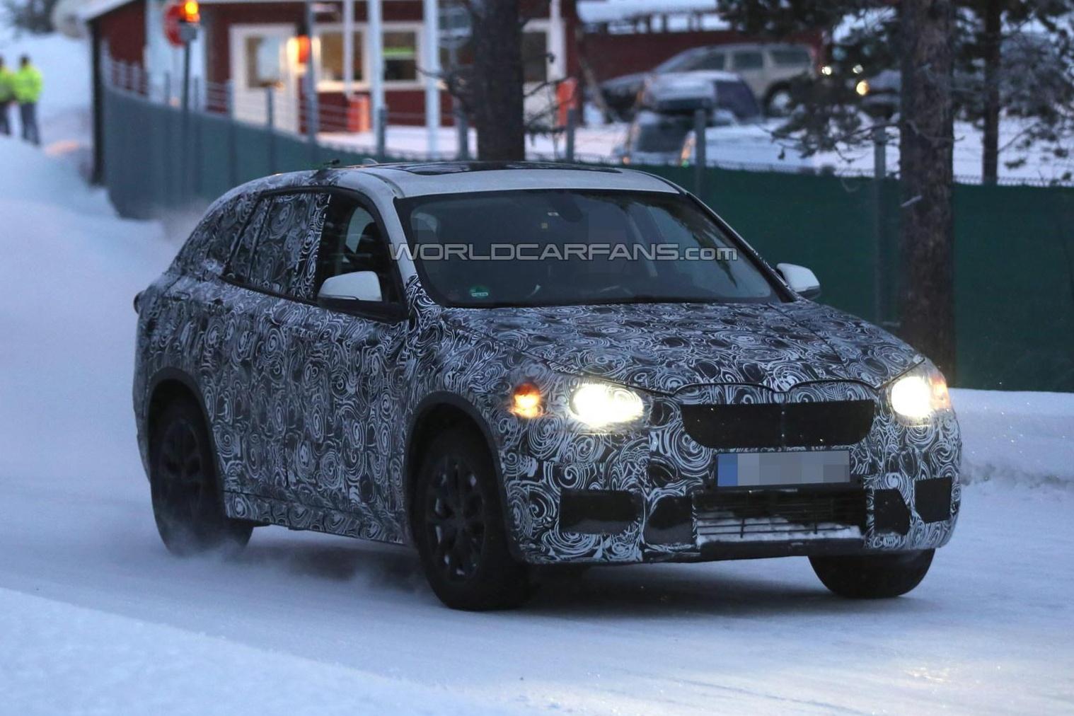 Тестирование нового BMW X1