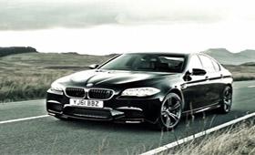 BMW M5 набирает 315 км/час за одну минуту