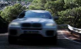 BMW представила тизер дизельной BMW Х6 M