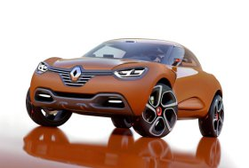Компания Renault поделилась новыми характеристиками кроссовера Captur