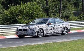2012 BMW 3-Series заметили в Нюрбургринге