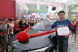 Ради BMW 1-Series китаец простоял без движения четыре дня