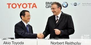 Подробности партнерства BMW и TOYOTA