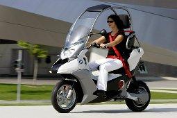 B BMW создали прототип электроскутера