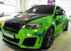 """BMW превратили в зеленого """"Халка"""""""