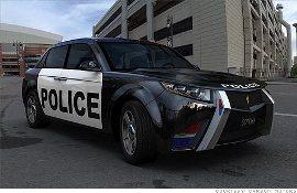 Проект BMW: полицейские автомобили будущего
