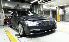 Обновленный BMW 3-Series был запущен в производство