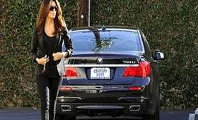 """Ева Лонгория теперь на """"крутом"""" BMW"""