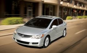 Новый люксовый седан создал на базе Civic концерн Acura