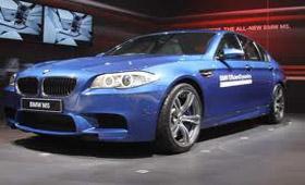 BMW отвезет M5 на AUTO EXPO