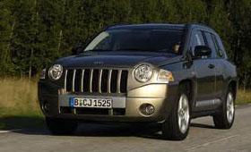 Фамильные черты Jeep Compass