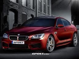 Появились компьютерные изображения BMW M6 Gran Coupe