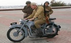 Музейщики реставрировали трофейный мотоцикл BMW