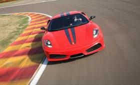 За рулем Ferrari Scuderia