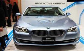 BMW покажет гибрид пятой серии в 340 л.с.