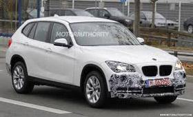 BMW проводит тесты обновленного X1