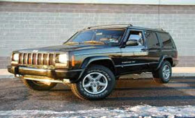 Внутри Jeep Cherokee 2.8L CRD Power Tec