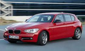 Новый BMW 1-Series получил пять звезд за безопасность