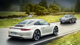 Юбилейная спецверсия Porsche 911