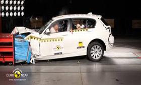 Новый BMW 1-Series безопасен на все пять звезд