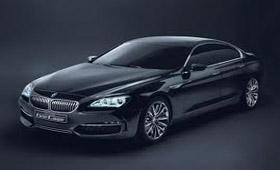 BMW представила шестую серию Gran Coupe