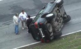 Grand Cherokee попал в аварию
