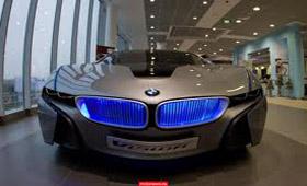 BMW i8 Vision снова в столице России