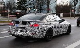 BMW M3 нового поколения снова оказался в фотообъективе
