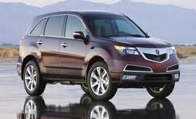 Acura мдх попала в список самых безопасных авто