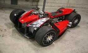 Квадроцикл из запчастей BMW и Ferrari стоит €200 000