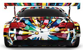 Миниатюрный BMW от Джеффа Кунса