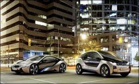 BMW представит в Америке концепты электромобилей