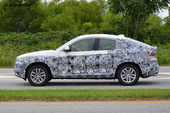 Новый BMW X4 попал под объективы фотокамер