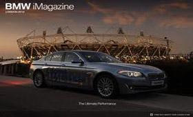 BMW выпустил iPad-журнал о Летней Олимпиаде 2012
