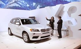 BMW отзывает кроссоверы X3