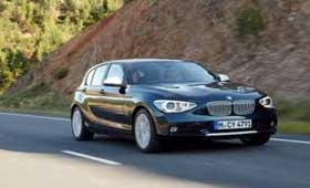 BMW представила фото новой 1-series