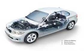 BMW производит для электромобилей универсальные зарядные станции
