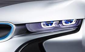 BMW работает над «лазерными технологиями» фар