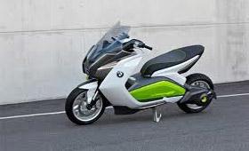 BMW снова представил концепт собственного электроскутера