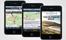 BMW создал приложение для поиска дорог