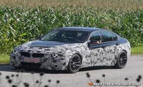 BMW M3 2014 тестируют на дорогах