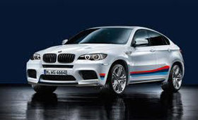 BMW X6 M получила линейку спорт-аксессуаров