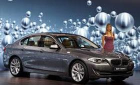 BMW рассказала о новом гибридном седане пятой серии