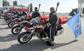 В Ростовской области создадут отряд мотоспасателей