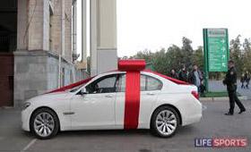 Тихонов получил от «Спартака» BMW
