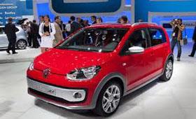 Volkswagen Up! станет пятидверным