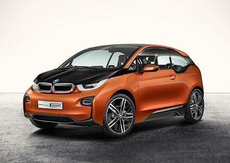 Электрокар BMW i3