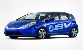 Honda представила электрокар Fit