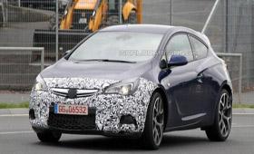 Opel Astra OPC «разкочегарят»