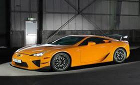 Toyota планирует представить Lexus LFA Tokyo edition